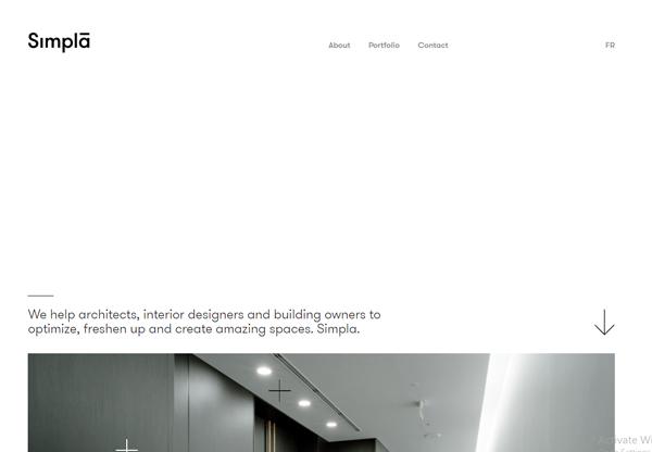 White space in Web Design