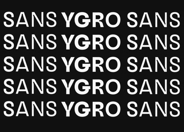 Ygro Sans Free Font
