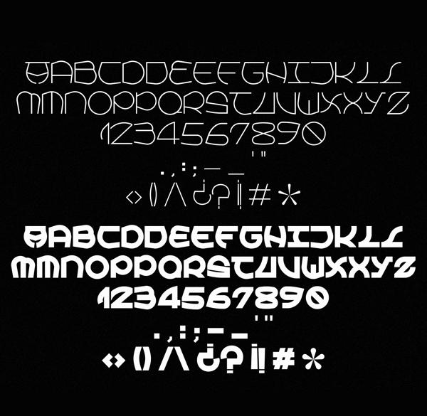 Atxalanda Font Letters