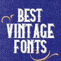 Post Thumbnail of 23 Best Vintage Fonts