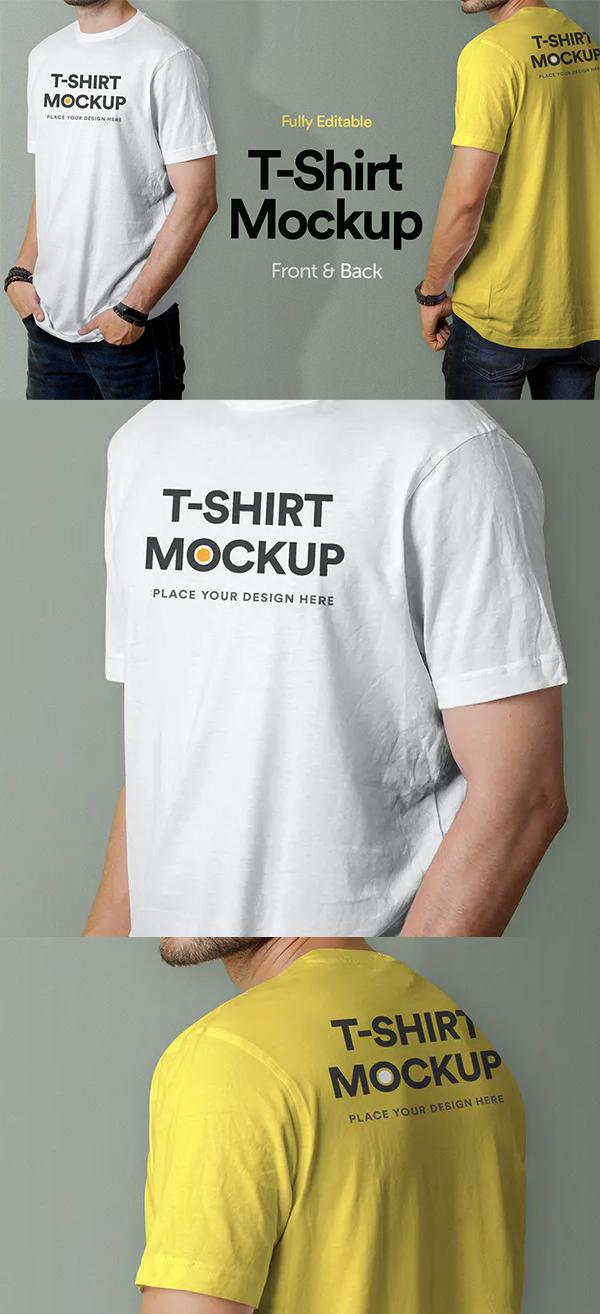 Modern T-Shirt Mockup