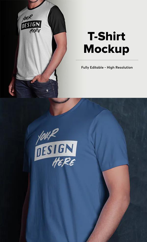 Elegant T-Shirt Mockup