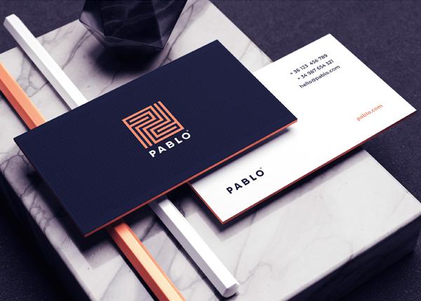 Business Card - Pablo Branding Identity by Andres Valderrama