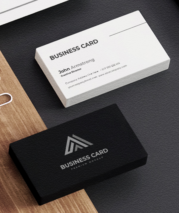 Business Card - Professional Brand Visual Identity Design By Yasir