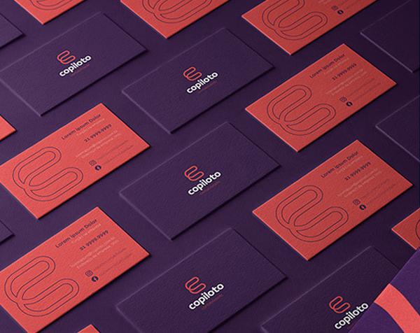 Business Card - Copiloto Contabilidade - Visual Identity by Felipe Holman