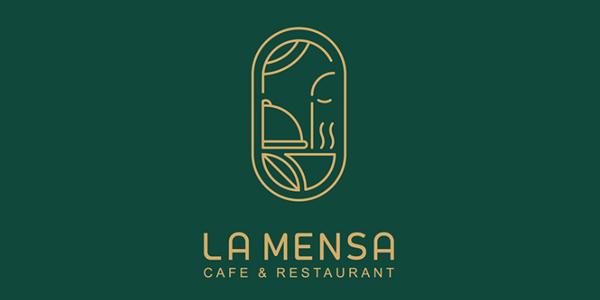 Logo - LA MENSA Identity Design by Zeynab Shabankari