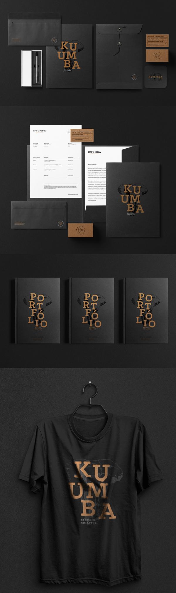 Stationery - Estúdio Kuumba   Brand Identity by David Silva