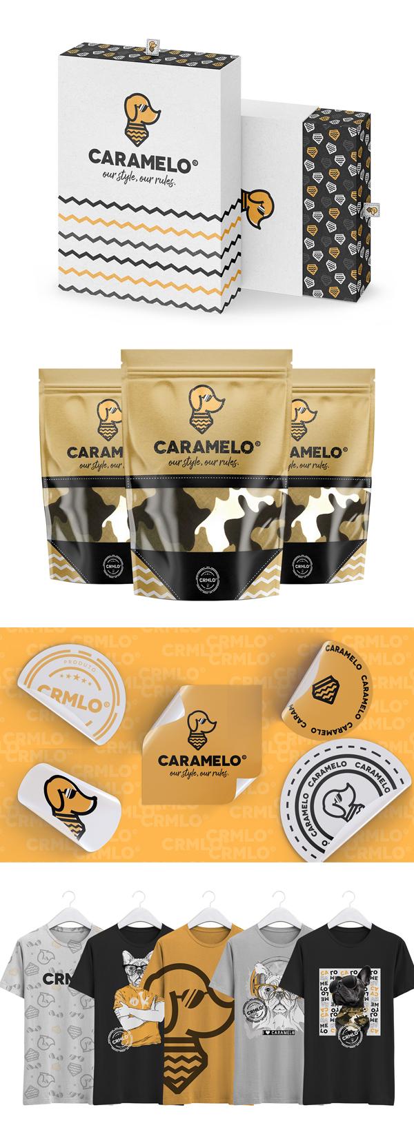 Stationery - Caramelo - Visual Identity by Mari