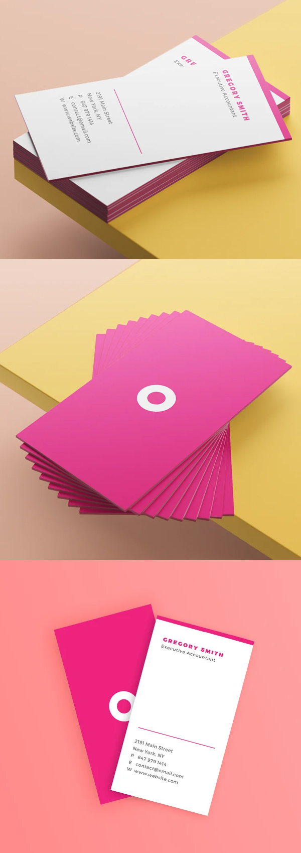 Mod Business Cards