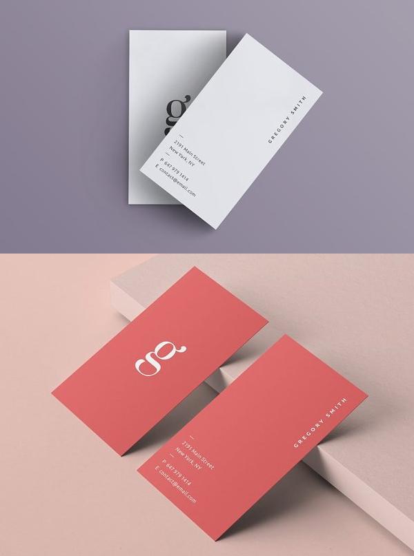 Simple Modern Business Card