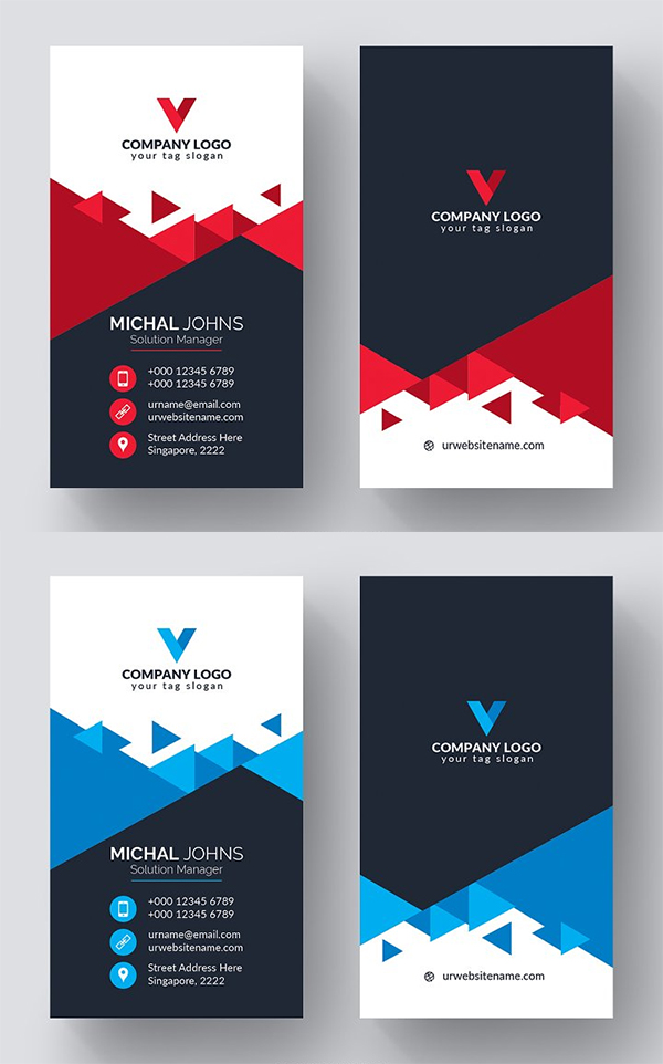 Coloful Business Card Design