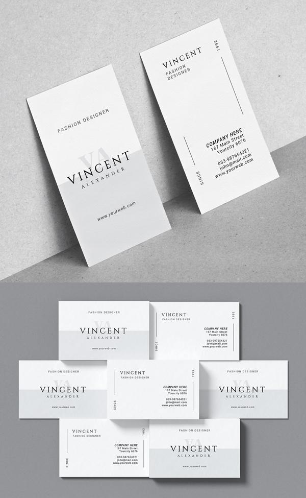 Minimal Corporate Business Card