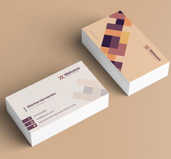 Creative Business Card Template - 1