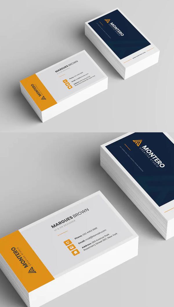 Creative Business Card Template - 19