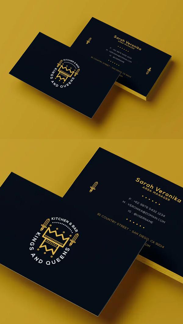 Creative Business Card Template - 22