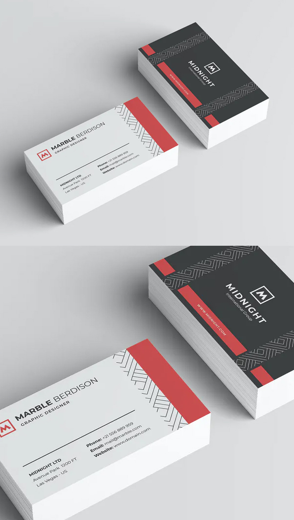 Creative Business Card Template - 25