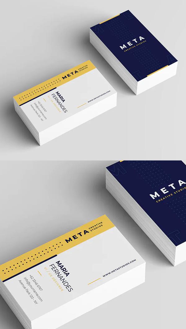 Creative Business Card Template - 9