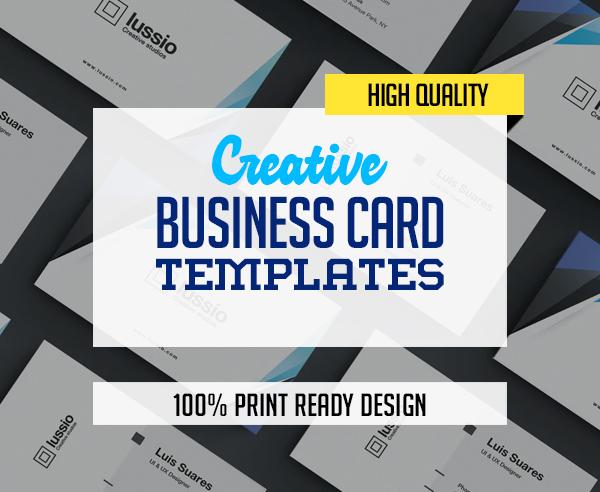 Creative Business Card Templates – 31 Print Design