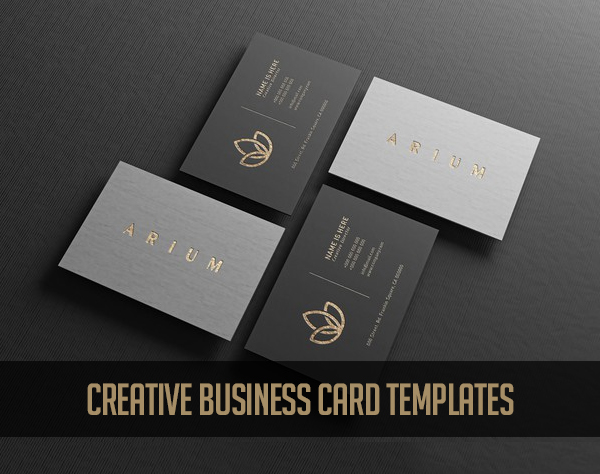 25 Creative Business Card Templates Design
