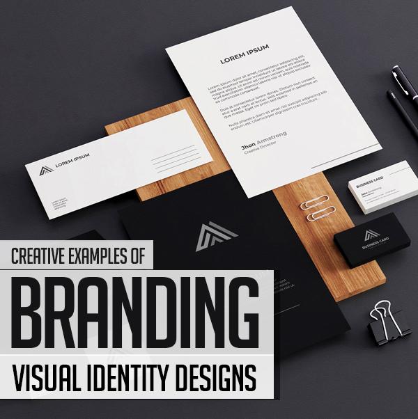 20+ Creative Branding, Visual Identity and Logo Design Examples