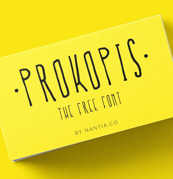 Prokopis Handmade Free Hipster Font