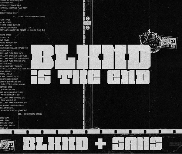 BLKND Free Hipster Font