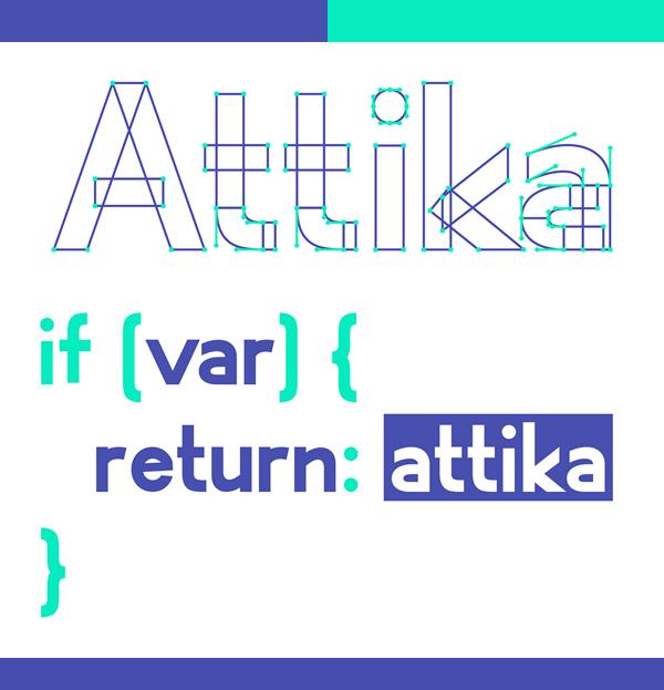 Attika Variable Free Hipster Font