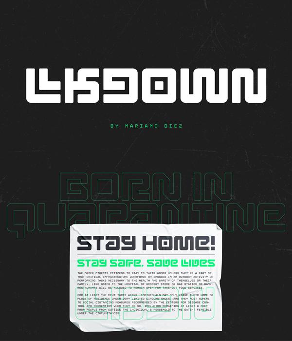 Lkdown Free Hipster Font