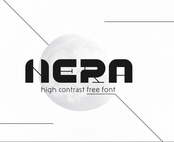 Nera Free Hipster Font
