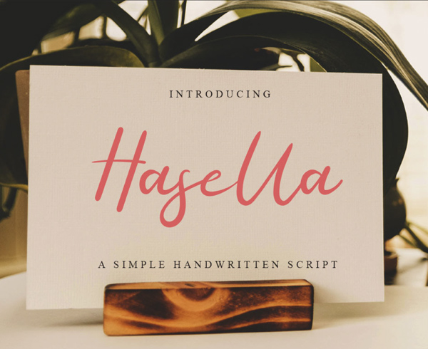 Hasella Free Hipster Font
