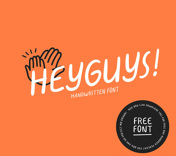 HeyGuys Free Font