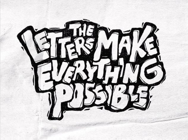 The letters make everything possible