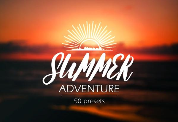 Summer Adventure - Lightroom Presets