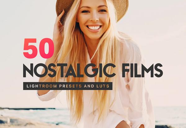 50 Nostalgic Films Lightroom Presets