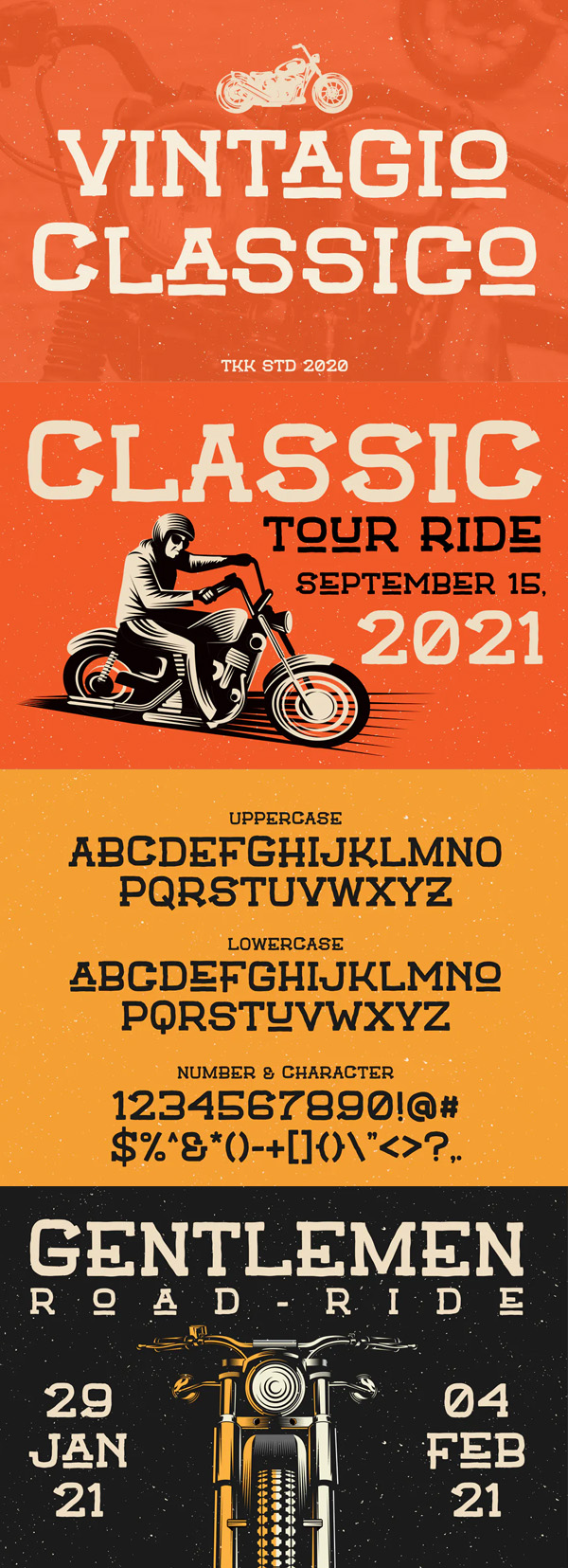 Vintagio Classico - Vintage Serif Font