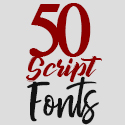 Post Thumbnail of 50+ Professional Brush and Script Fonts For Designers