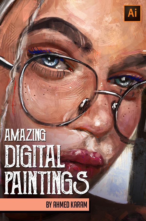 Amazing Digital Painting Art by Ahmed Karam