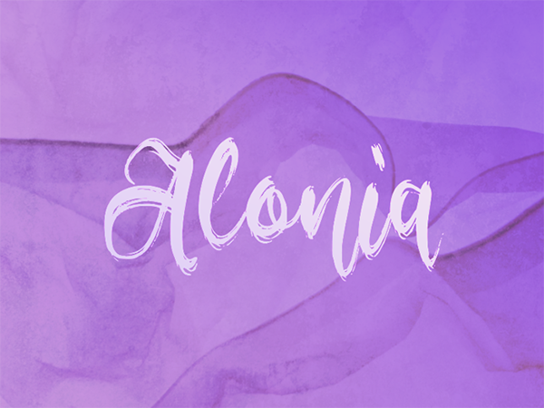 Alonia Free Font