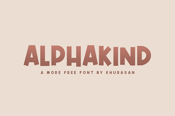 Alphakind Free Font