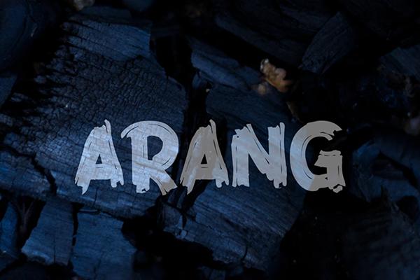 Arang Free Font