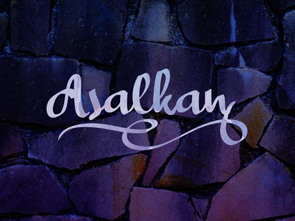 Asalkan Free Font