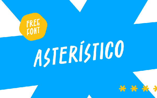 Asteristico Free Font