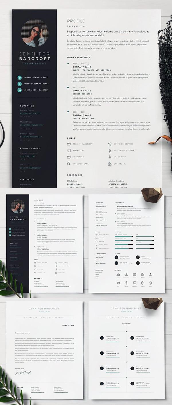 Creative Resume Template / CV