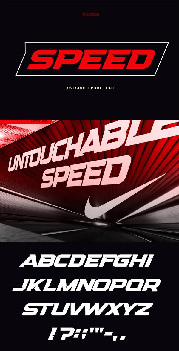 Headline Speed Font