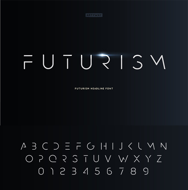 Futurism Headline Font