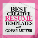Post thumbnail of 20+ Creative CV / Resume Templates with Cover Letters
