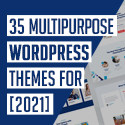 Post thumbnail of WordPress Themes: 35 Multipurpose Best WP Themes