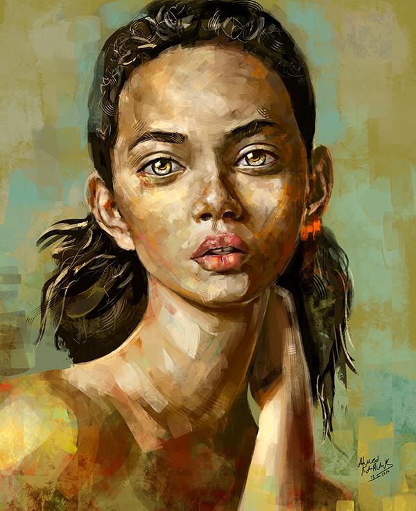 Amazing Digital Painting Art by Ahmed Karam - 1