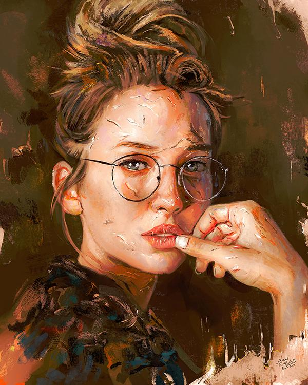 Amazing Digital Painting Art by Ahmed Karam - 10