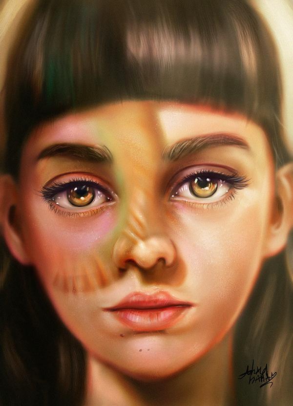 Amazing Digital Painting Art by Ahmed Karam - 17